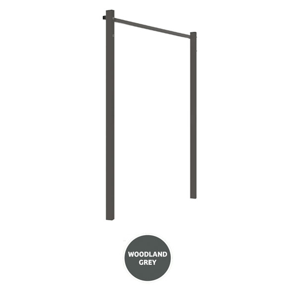 austral clothesline ground mount kit 13m grey