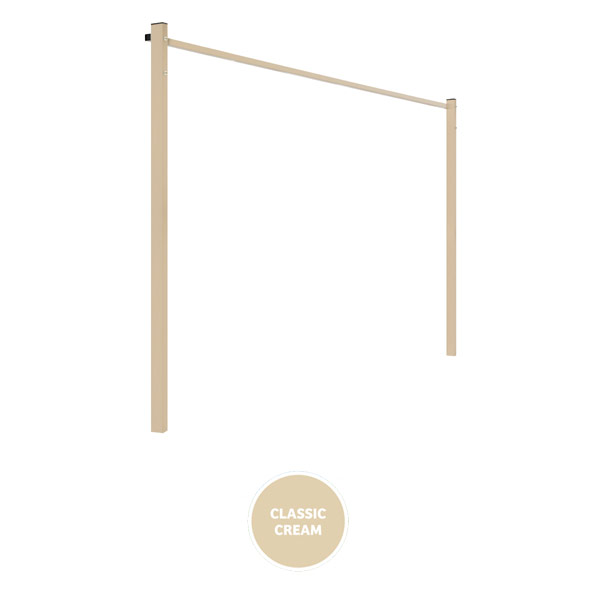 austral clothesline ground mount kit 24m cream