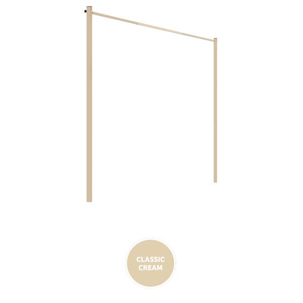 austral clothesline ground mount kit 33 cream