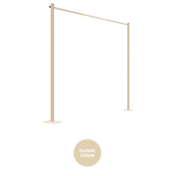 austral clothesline ground mount kit plated 33m cream