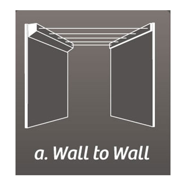 austral retract away clothesline wall to wall
