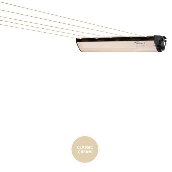 austral retractaway retractable clothesline cream 50
