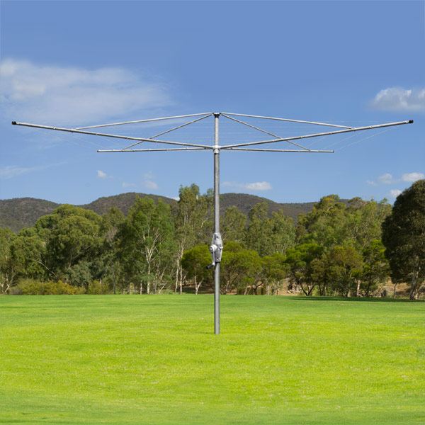 austral super 6 rotary clothesline