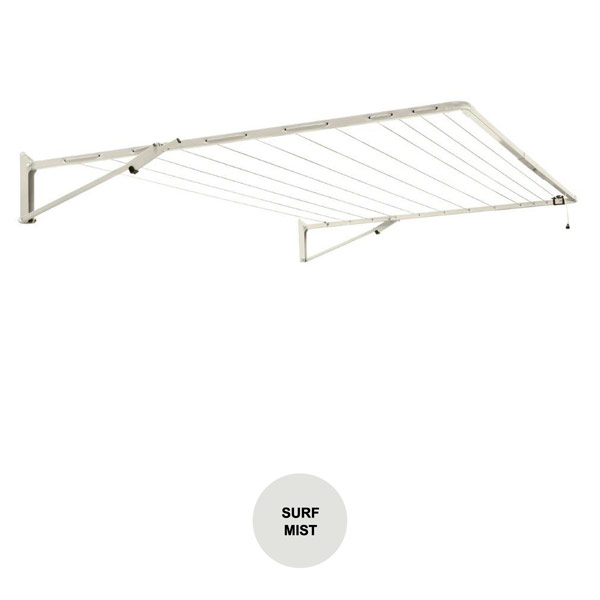 buy austral clotheslines fold down light grey