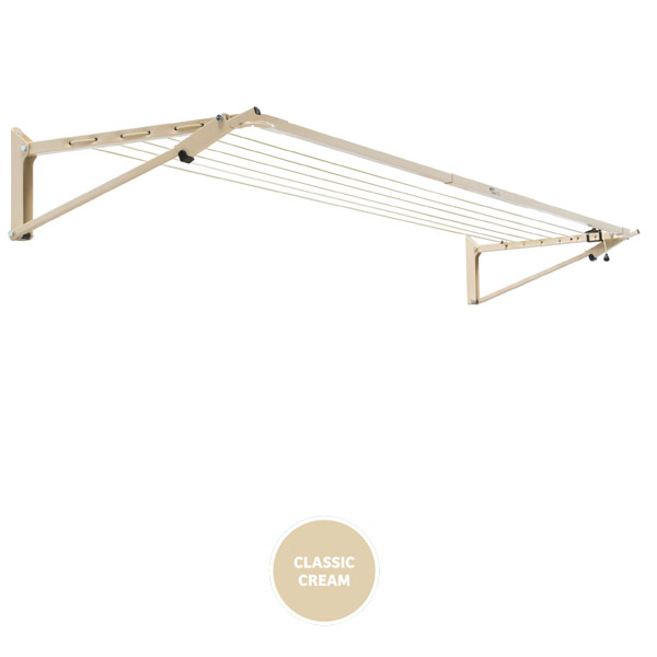 buy austral clotheslines slim fold down cream