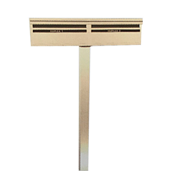 duxplex letterbox white