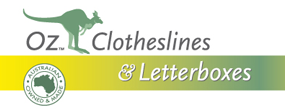 australian clotheslines and letterboxes