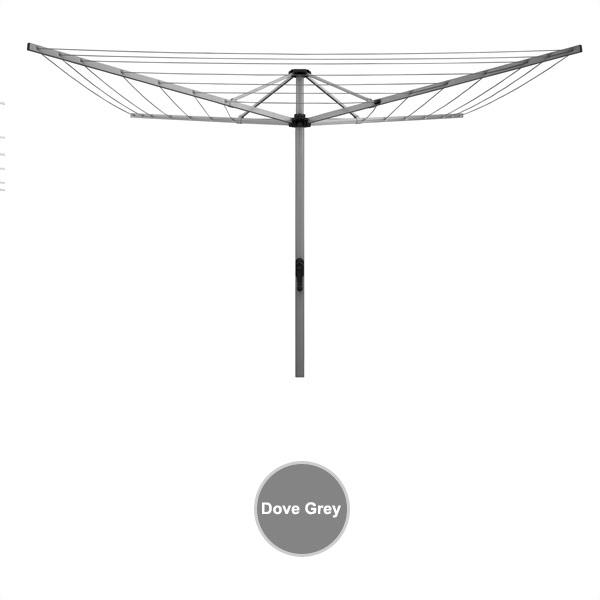 sunbreeze fold down rotary clothesline