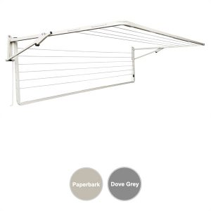sunbreeze wall mounted clothesline double 2400x1200