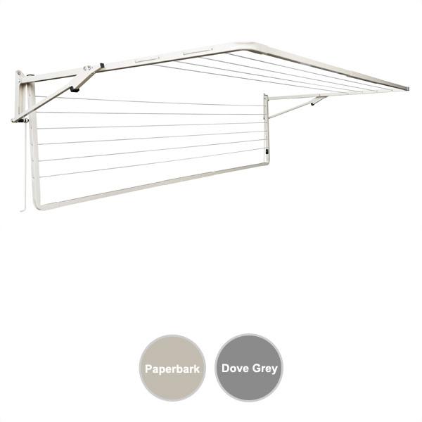 sunbreeze wall mounted clothesline double 2400x1200