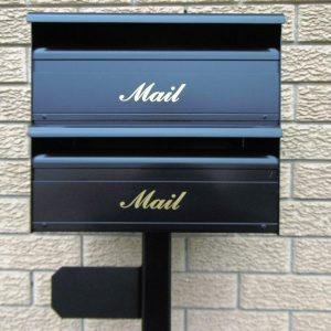 double letterboxes for sale