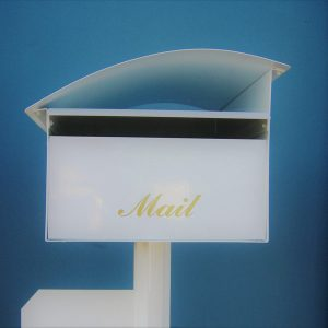 wave curved letterboxes for sale