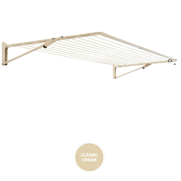 austral clothesline compact 39 cream