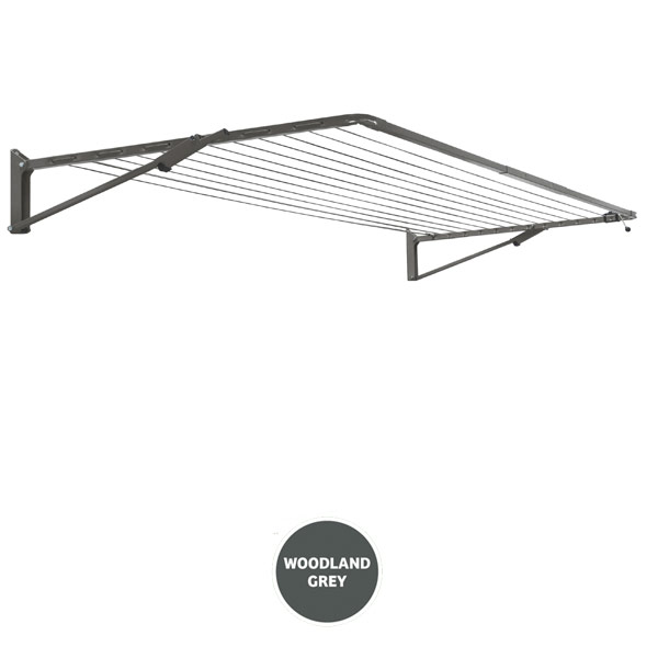 austral clothesline compact 39 woodland grey